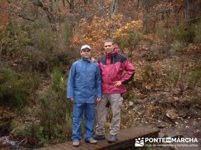 Parque Natural de Tejera Negra; ropa tecnica de montaña; toledo nocturno